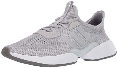 adidas Women's Mavia X Running Shoe, Grey/Silver Metallic/Grey, 9.5