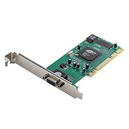 Aiposen ATI Rage XL 8MB PCI VGA Graphics Video Card CL-XL-B41