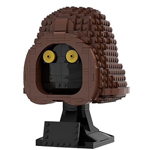 Tewerfitisme Techink - Juego de construcción de casco, 740 piezas, bloques de construcción para casco, artículo coleccionable para adultos, compatible con Lego 75277/75304
