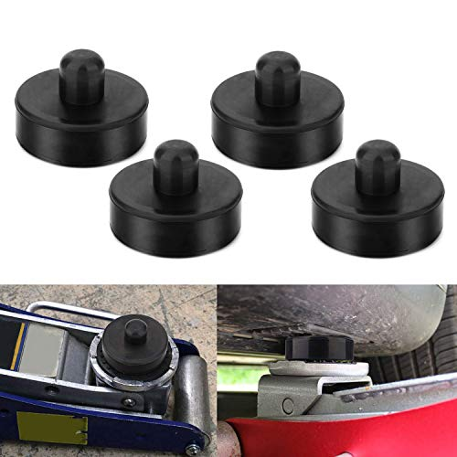 Best Deals! CPROSP 4 Pack Car Jack Lift Pad Adapter Tool Rubber Jack Pads Frame Protector for All Te...