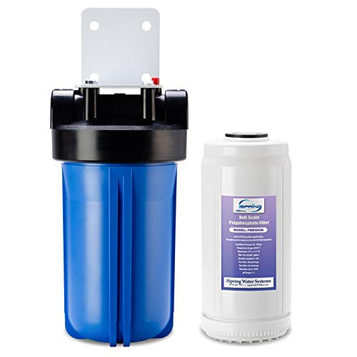 iSpring WDS80K Whole House Water Filter Anti Scale, 10