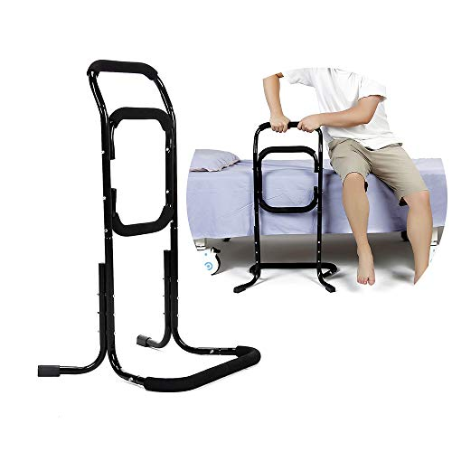 Bed Rails For Elderly Seat Lift Assist Chair Lift Devices Grab Bar For Bed Stand Assist Handicap Mobility For Lift Chair Couch Sofa Disabled Senior Support Handles Accessories Products Fall Protection