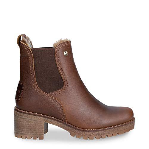 PANAMA JACK PIA Enkellaarzen/Low boots femmes Bruin Enkellaarzen