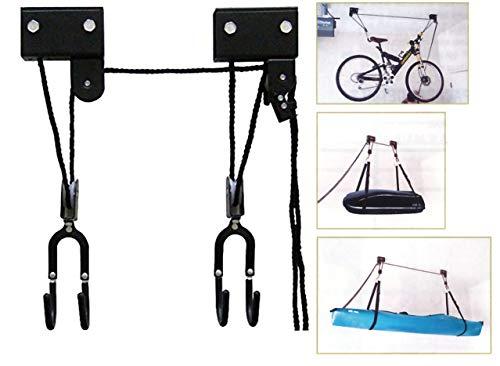 VDP - Soporte de Techo para Bicicleta eléctrica (tamaño XL, hasta 57 kg)