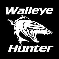車用ステッカー・デカール 角膜ハンター漫画の魚のビニールウィンドウのステッカー車のステッカーは15.8CMX14.9CMを装飾します BJRHFN (Color : White)