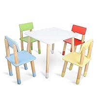 Tavoli E Sedie In Plastica Per Bambini.Set Tavolo E Sedie Blu Verde Casa E Cucina Set Di Tavoli E Sedie
