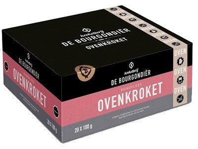 De Bourgondier Ofen Rindfleischkroketten 20 Stk. x 100g