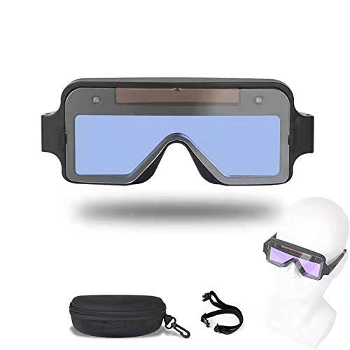 True Color Welding Goggle Welding Glasses Protective Mask Helmet,Welder Glasses Solar Automatic Dimming Professional Eye Protection