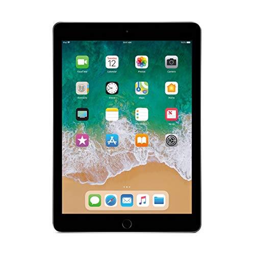 Apple iPad 9.7inch with WiFi 32GB- Space Gray (2017 Model) (Renewed)