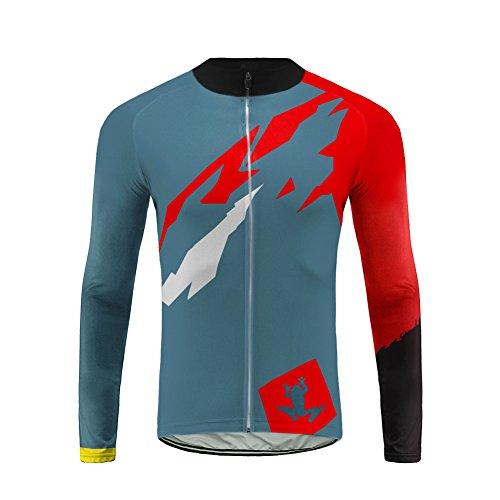 Uglyfrog Radfahren Jersey Männer 2018 Radfahren Lange Ärmel Fahrradbekleidung Fahrrad top Ropa Ciclismo Trikots MTB Trikot Racing Sport rennrad Clothes