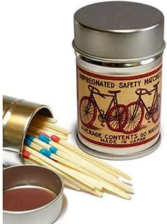 レトロラベル缶マッチ・自転車002