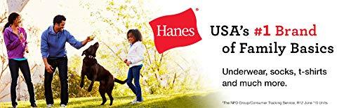 Hanes Men's ComfortSoft T-Shirt (Pack of 6), Black, Large