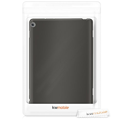 kwmobile Huawei MediaPad M3 Lite 10 Hülle - Silikon Tablet Cover Case Schutzhülle für Huawei MediaPad M3 Lite 10 - Schwarz - 6