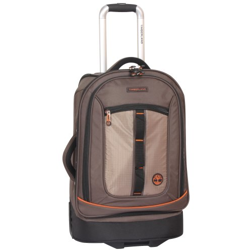 Timberland Expandable Spinner Carry On Suitcase, Cocoa