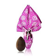 Idea Regalo - Rinaldini Uovo di Cioccolato al Latte E Fondente con Sorpresa, Uovo di Pasqua Confezionato A Mano, 300 Grammi