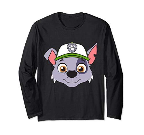 Paw Patrol Rocky Big Face Long Sleeve T-Shirt