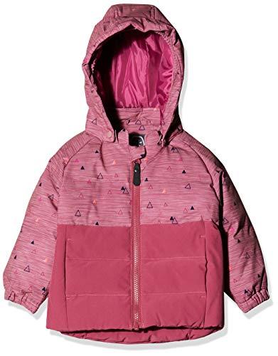 Color Kids Unisex Baby Mini Padded Winterjakke Jacke, Rosa (Malaga Rose 4192), (Herstellergröße: 80)