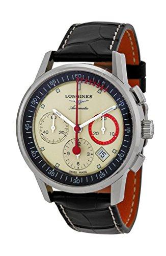 Longines Heritage Column Wheel Chronograph Record Automatic Mens Watch L4.754.4.72.4
