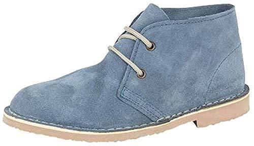 Roamer Women's L777CS Desert Boots 4 UK Denim Blue
