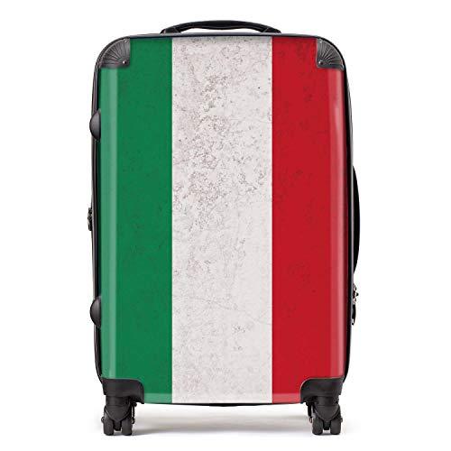 Vlag Hongaar/Hongaarn, met TSA Lock 4 draaibare wielen, bagage, 68 cm, 80 liter