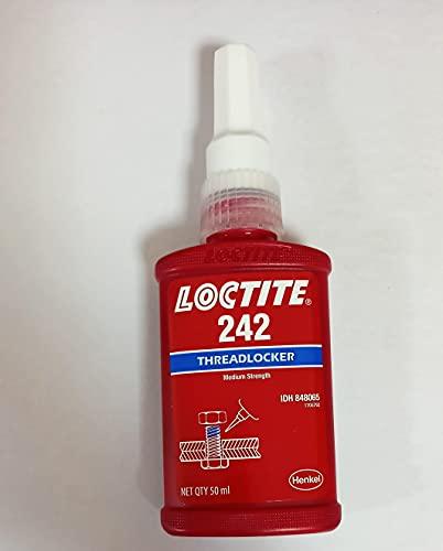 Loctite Threadlocker 242, 50mL Bottle, Blue