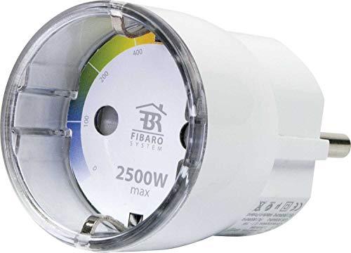 SCHWAIGER -ZHS13- Zwischenstecker/ Verbrauchsmesser/ Steckdosenadapter/ Stromverbrauch Anzeige über LEDs/ Z-Wave/ Smart Home/ Steuerung per App/ Sprachsteuerung mit Alexa, Google