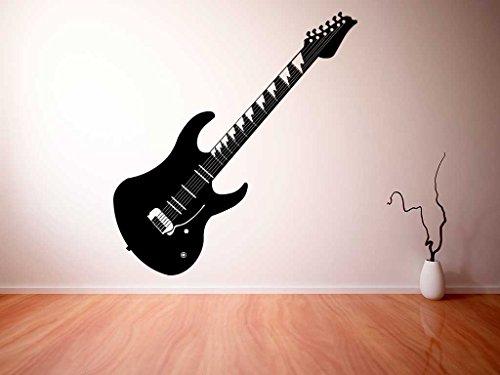 Vinilo decorativo pared 3D Guitarra Electrica Soloist   Varias Medidas 155x155cm  ...