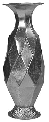justhome, Cubi Gift nav-6000Maceta, Hojalata, Plateado, única