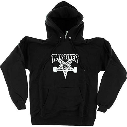 Thrasher Magazine Skategoat Black Hooded Sweatshirt - Small
