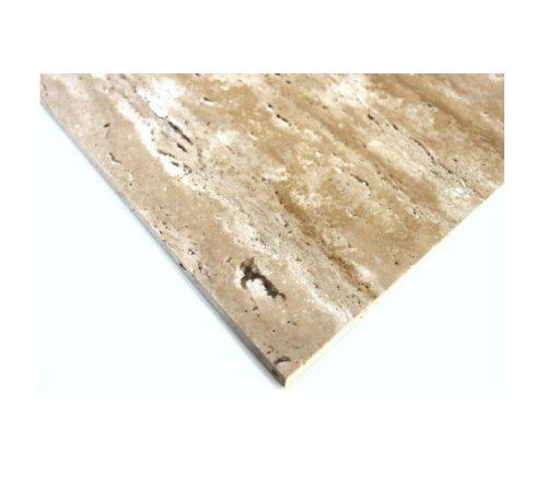 TRAVERTINE CLASSIC Exclusive TRANSPARENT GEVOLD tegels natuursteen vloer muur 30cm x 60cm - 1 pakket