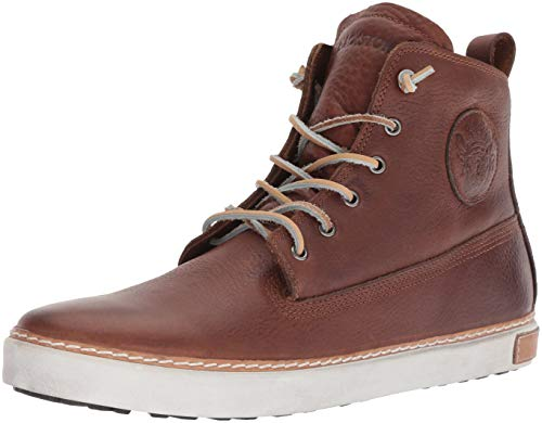 Blackstone 6 Inch Worker On Foxing AM02, Herren Sneaker, Braun/Old Yellow, 40 EU
