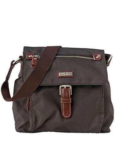 TOM TAILOR Damen Taschen & Geldbörsen kleine Überschlagtasche braun/brown,OneSize,C029,8000