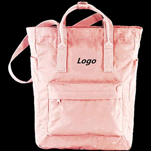 Rucksack Neue Outdoor-Handtasche Große Kapazität One Shoulder Swiss Waterproof Solid Bag Rucksäcke Canvas 18L Schwarz