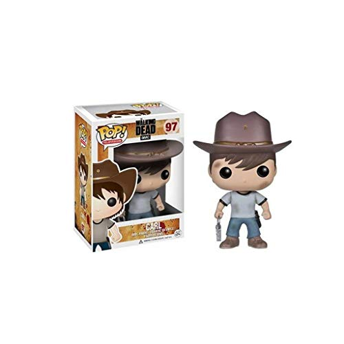 Lxyy YF Pop TV: The Walking Dead - Carl Vinyl Figure e Exquisite Box Collection Giocattoli vetrina Decorativa 3,9 Pollici
