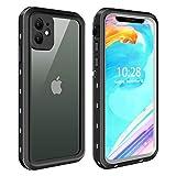 ODLICNO iPhone 11 Hülle, IP68 Wasserdicht Stoßfest Staubdicht Schneefest Ultradünn Leicht...