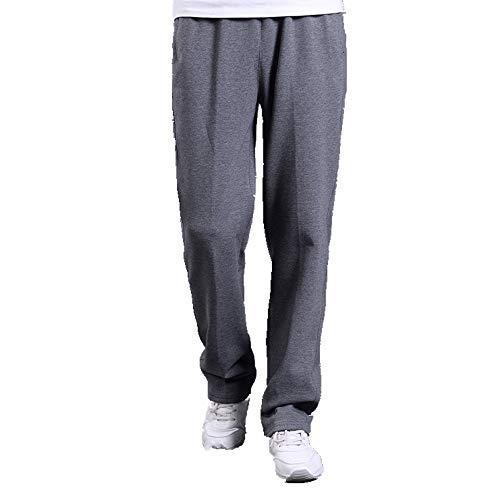 N\P Pantalones de deporte de primavera Pantalones de algodón con cordón cómodo elástico de cintura