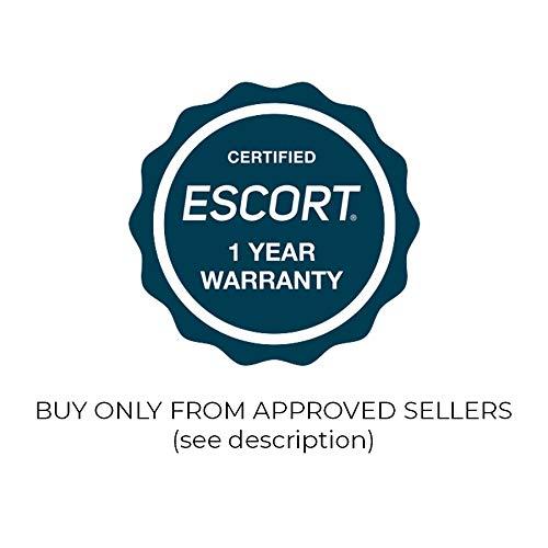 Escort 0100018-2 X70 Radar Detector with Live, Extreme Long Range, False Alert Filter, OLED Display, Voice Alerts, Black