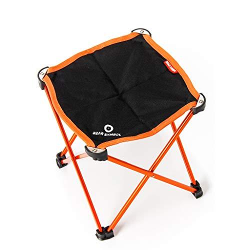 Hh001 Klappstuhl Outdoor Camping Klappstuhl Strand Stuhl Angeln Stuhl Freizeit Tragbare Hausgarten Tisch Und Stühle Ultraleichte Stuhl (Color : A, Size : 26 * 22.5CM)