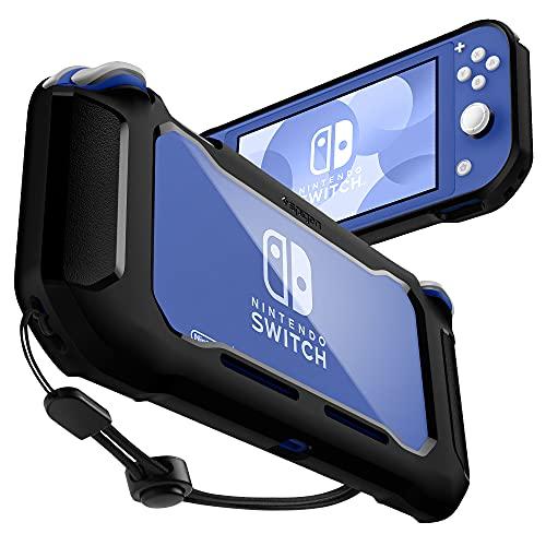 Spigen Rugged Armor Projectada para Capa para Nintendo Switch Lite Capa (2019) - Preto