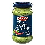 Barilla Pesto Basilic et Piment, 195 g