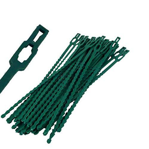 TF Attaches de câble flexibles réglables en plastique pour plantes et plantes