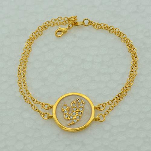Nobrand Islamisches Armband Für Frauen Allah Armreif Kette Arabischer Schmuck Gold Farbe Nahost Muslime Für Frauen