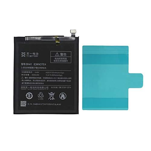 [TY BETTERY] Bateria Compatible con BN41 Xiaomi Redmi Note 4