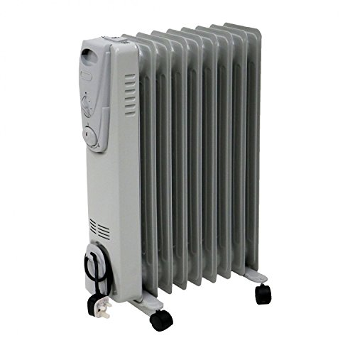 Oypla Electrical 2000W 9 Fin Portable Oil Filled...