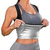 Wonderience Sauna Vest for Women Sauna Sweat Suit Tank Top Waist Trainer Vest Slimming Body Shaper...