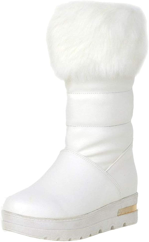VulusValas Women Comfort Shearling Boots
