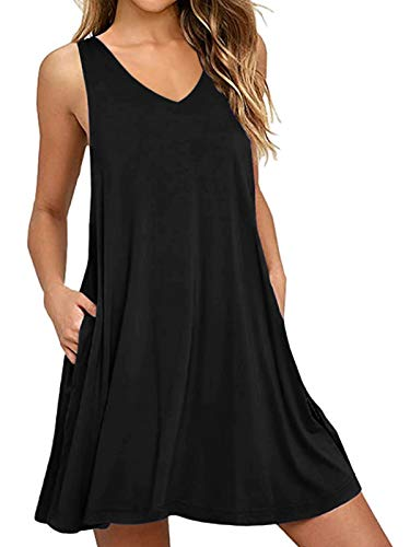 CNFIO Sukienka damska w leopard, sukienka z długim rękawem, do kolan, z kieszenią, sweter, na co dzień, na jesień