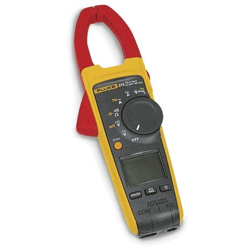 Fluke - 375CAL 375 True-RMS AC/DC Clamp Meter with Frequency Measurement with a NIST-Traceable Calibration Certificate with Data