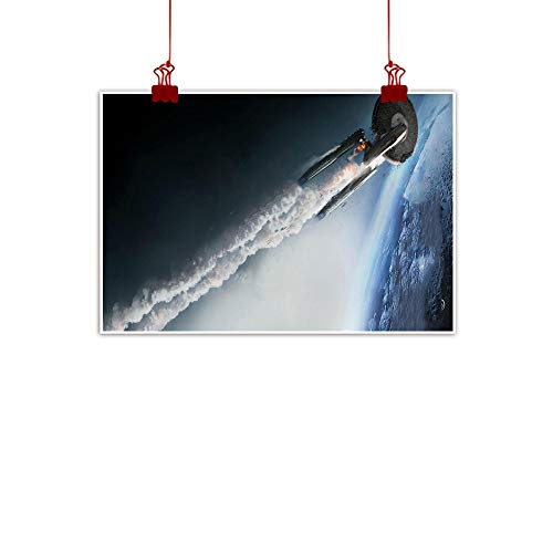 Xlcsomf Star Trek Beyond HD Ölgemälde Kunst Wand Ölgemälde Gemälde Home Wall Decoration ungerahmt 45,7 x 30,5 cm
