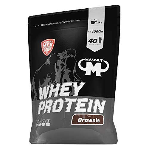 Mammut Nutrition Whey Protein Brownie, 1000 g